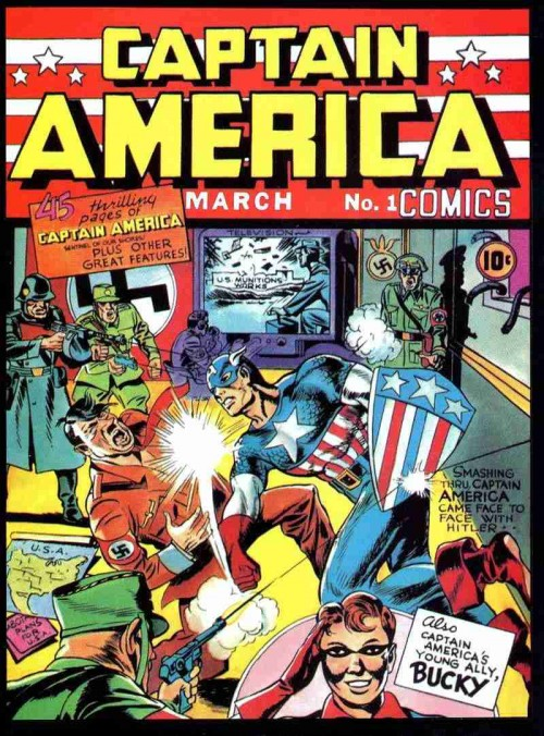 Captain America Nº1 (1941) de Joe Simon y Jack Kirby