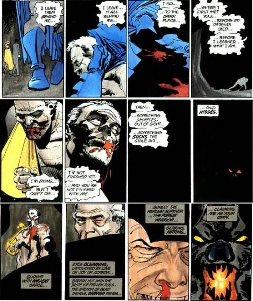 El Regreso del Caballero Oscuro de Frank Miller