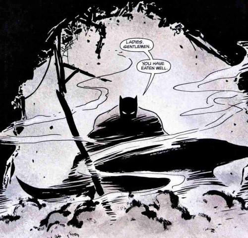 El Batman de Frank Miller interpretado por  David Mazzucchelli