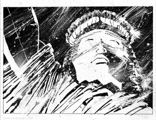 La justicia ciega de Frank Miller