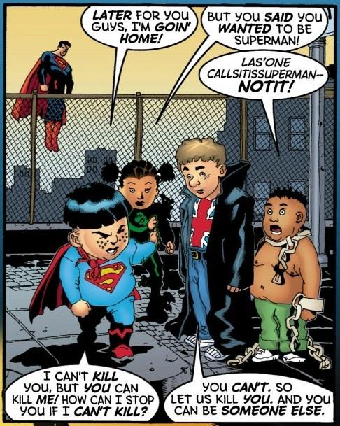 Clásicos en Grapa: ¿Qué tiene de divertido la Verdad, la Justicia y el estilo de vida americano?