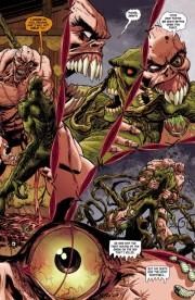 Una muestra de lo será la serie, páginas de Swamp Thing #0 (SPOILERS)