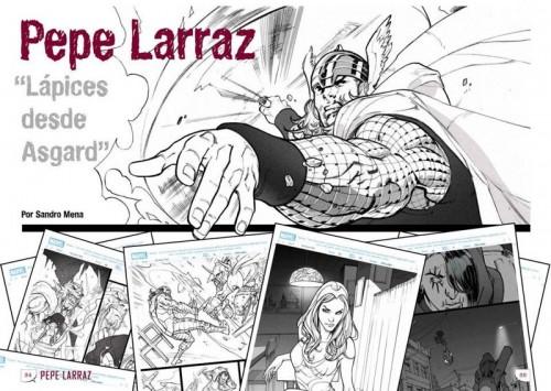 Detalle de la entrevista a Pepe Larraz