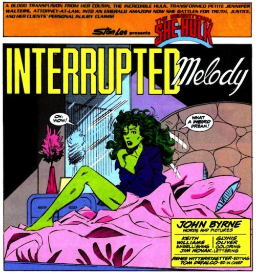 Difícil es de olvidar la Hulka de Byrne.