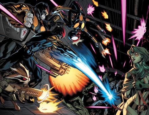Los Guardianes de la Galaxia no tardarán en cruzarse con el nuevo Nova