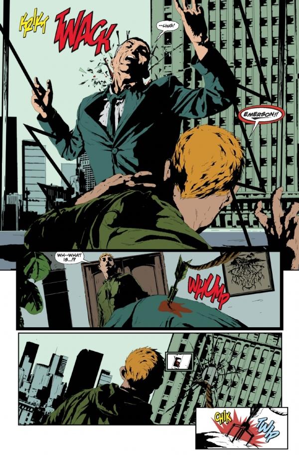 Un secundario que cae y que deja a Oliver en una situación comprometida.