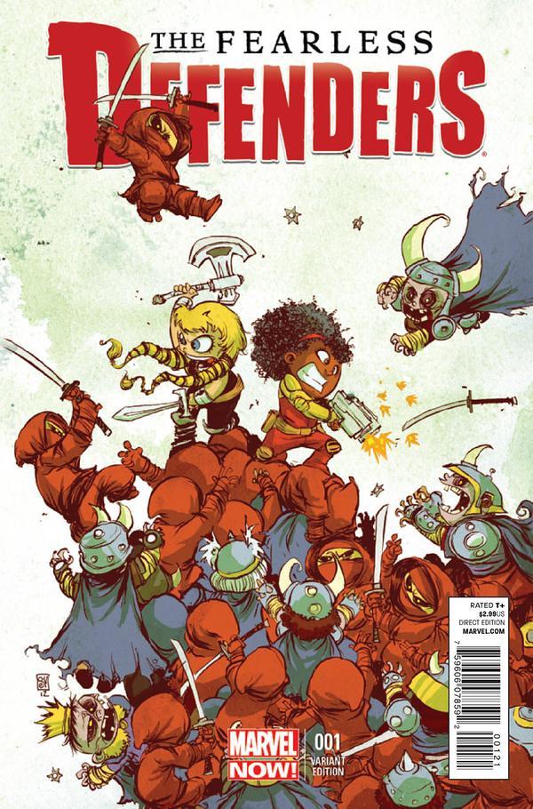 Explorando Marvel NOW! Fearless Defenders