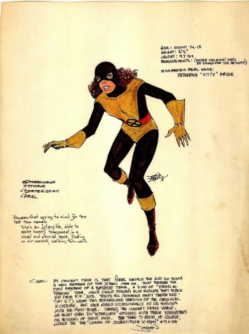 Kitty Pryde X-Men John Byrne Chris Claremont