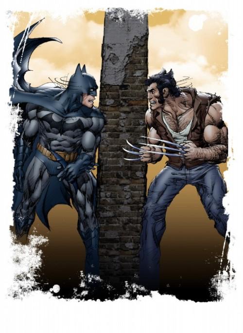Hulk Neal Adams Lobezno Batman