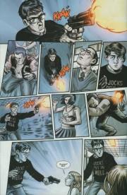 Páginas de Hard Time #1, por Brian Hurtt