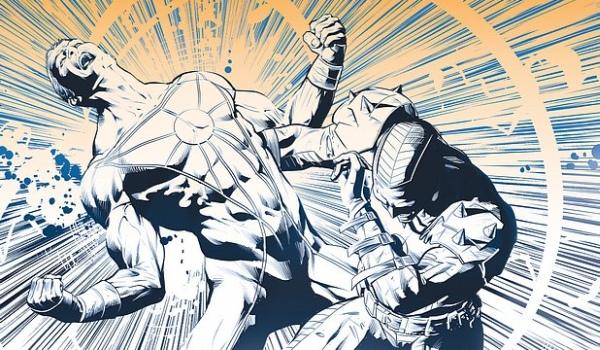 Portada de Jim Starlin para StormWatch #19 (pinchad para verla completa)