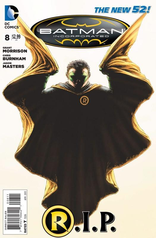 Batman Inc 8 - Robin RIP