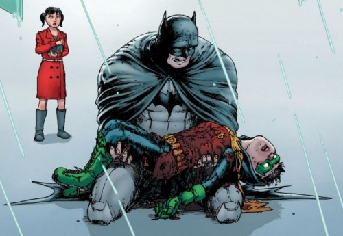Batman Incorporated 8 - Robin RIP