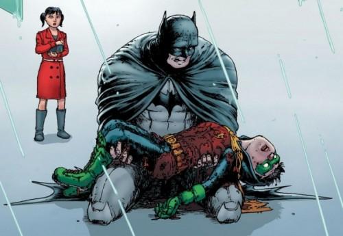 Batman Incorporated 8 - Robin RIP