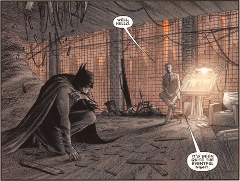 Escena Batman: Arquitectura Mortal Chip Kidd DaveTaylor