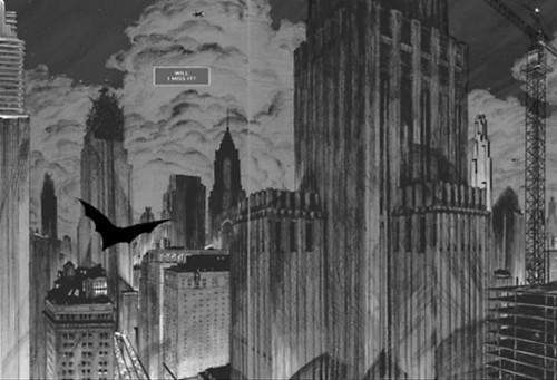 Gotham Batman: Arquitectura Mortal Chip Kidd Dave Taylor