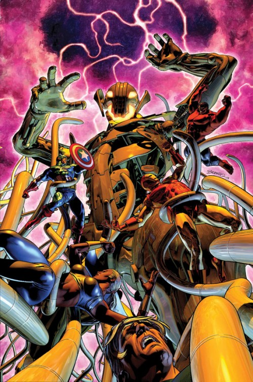 Age of Ultron 12 Portada Brandon Peterson Marvel Comics