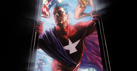 Nueva portada de Alex Ross para el debut de Astro City en 2013.