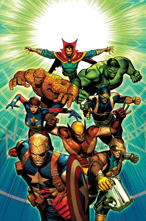 Axel Alonso anuncia que Marvel Now! tendrá fase dos 08