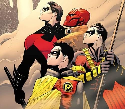 Batman-Robin-Damian-Capucha-Roja-Red-Robin-Patrick-Gleason