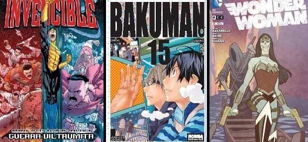Destacada Invencible Bakuman Wonder Woman
