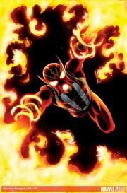 La Moda de los Superhéroes Daniel Acuña retoca los uniformes de los Imposibles Vengadores 01