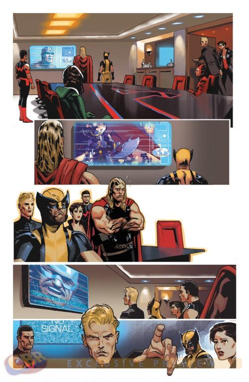 La Moda de los Superhéroes Daniel Acuña retoca los uniformes de los Imposibles Vengadores 03