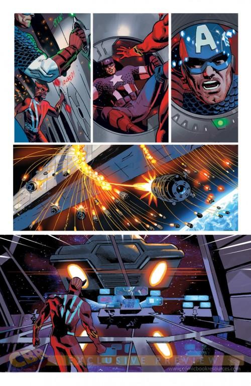 La Moda de los Superhéroes Daniel Acuña retoca los uniformes de los Imposibles Vengadores 05