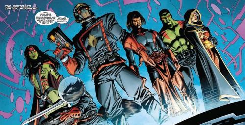 La Moda de los Superhéroes Los Guardianes de la Galaxia de Brian Michael Bendis y Steve McNiven 02