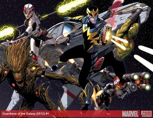 La Moda de los Superhéroes Los Guardianes de la Galaxia de Brian Michael Bendis y Steve McNiven 04