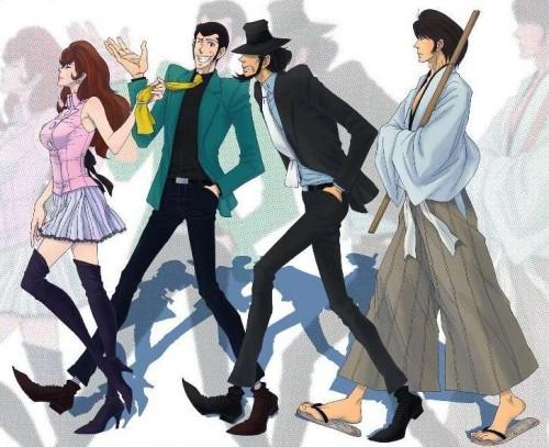 Lupin III manganime Kazuhiko Kato Hayao Miyazaki
