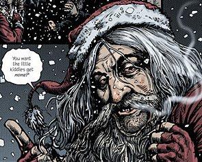 Papá Noel en Happy