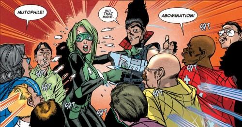 Qué está pasando en el cómic americano Season 21 DG 08