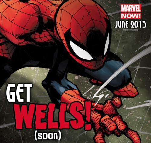 Zeb Wells Joe Madureira Spiderman teaser marvel now!