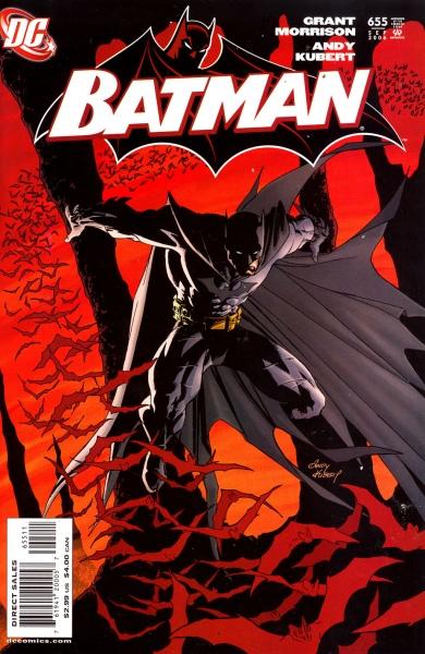 batman 655 cover morrison kubert