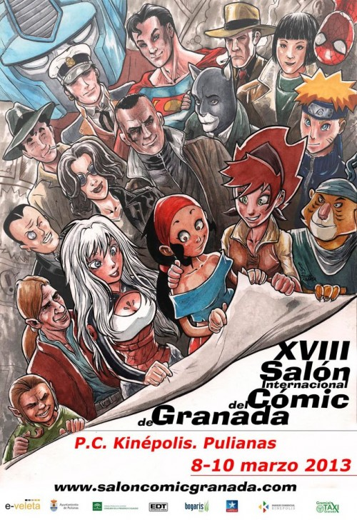 cartel-salon-comic-granada-2013