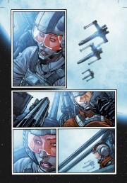 Leia piloto de su X-Wing
