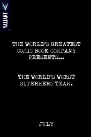 Teaser de Valiant de los peores superhéroes del mundo