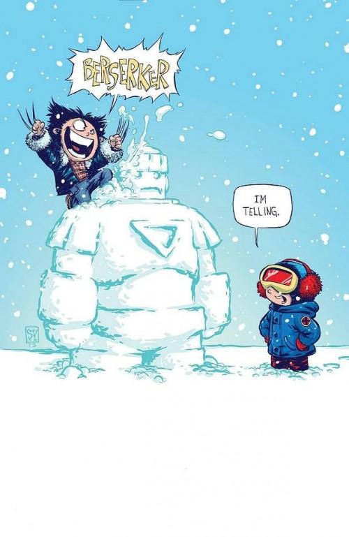 Wolverine Skottie Young Portada Marvel Comics