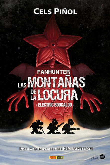 Portada del libro Fanhunter: Las montañas de la locura