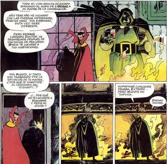 Doctor Muerte, un personaje complejo.