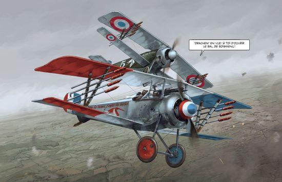 Comic y aviones, las grandes pasiones de Romain Hugault