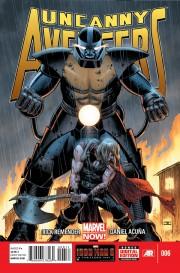 Las referencias fílmicas de Daniel Acuña en Imposibles Vengadores 01
