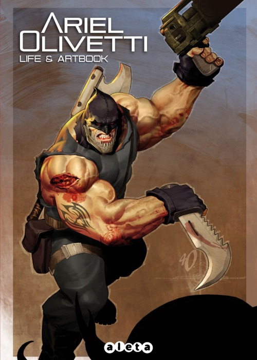 Portada Ariel Olivetti life and artbook