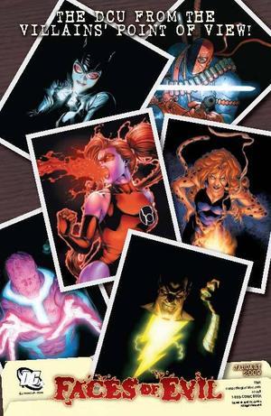 Faces of Evil DC Comics