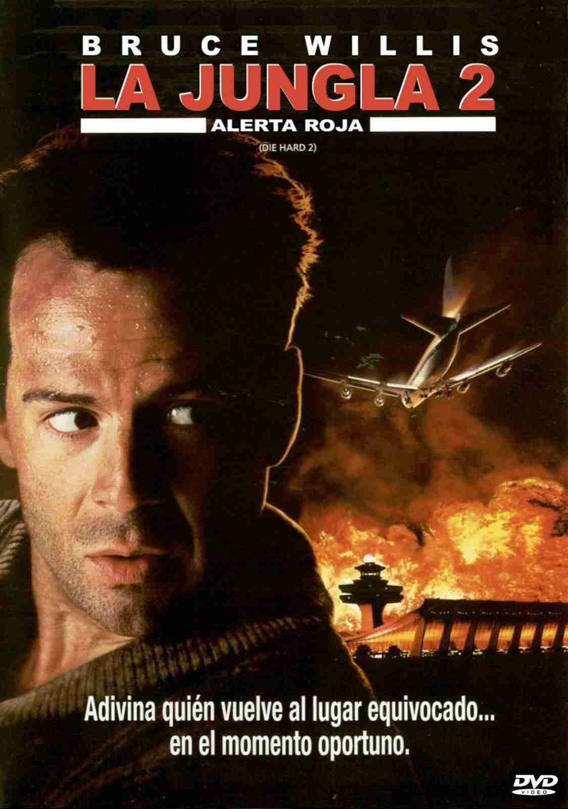 póster de la película La jungla 2