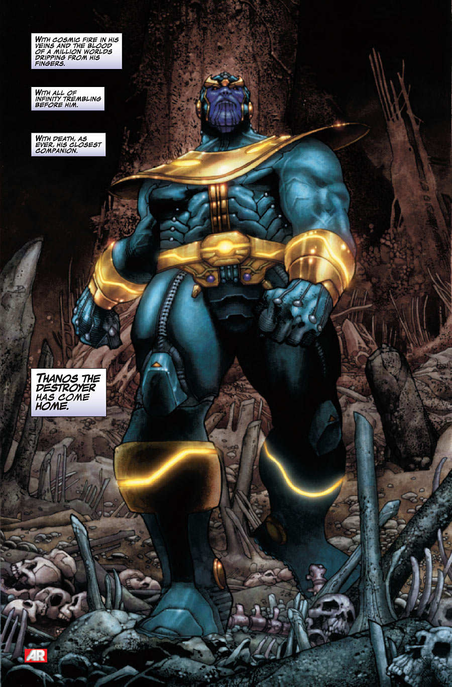 Explorando Marvel Now Thanos Rising Zona Negativa