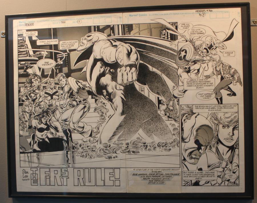 Original de Steve Epting para The Avengers #366