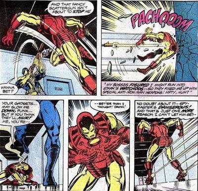 Iron Man contra el espionaje corporativo