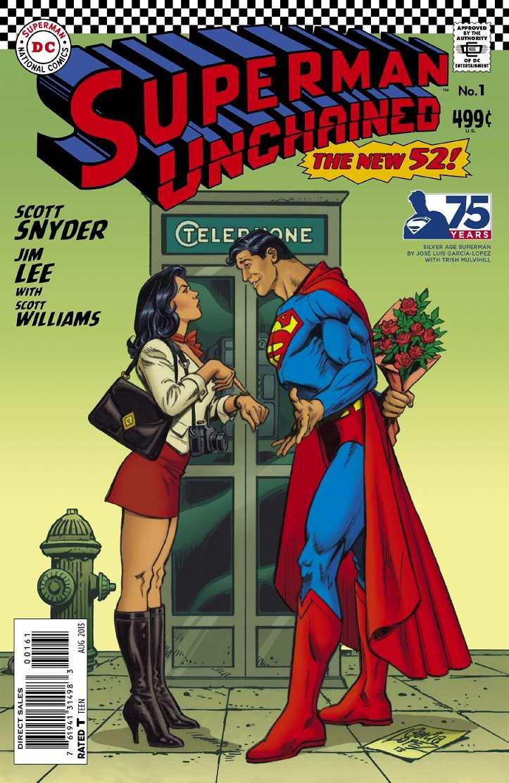 Superman-Unchained-Jose-Luis-Garcia-Lopez-Decada-Sesenta